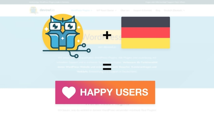 devowl.io is now available in German