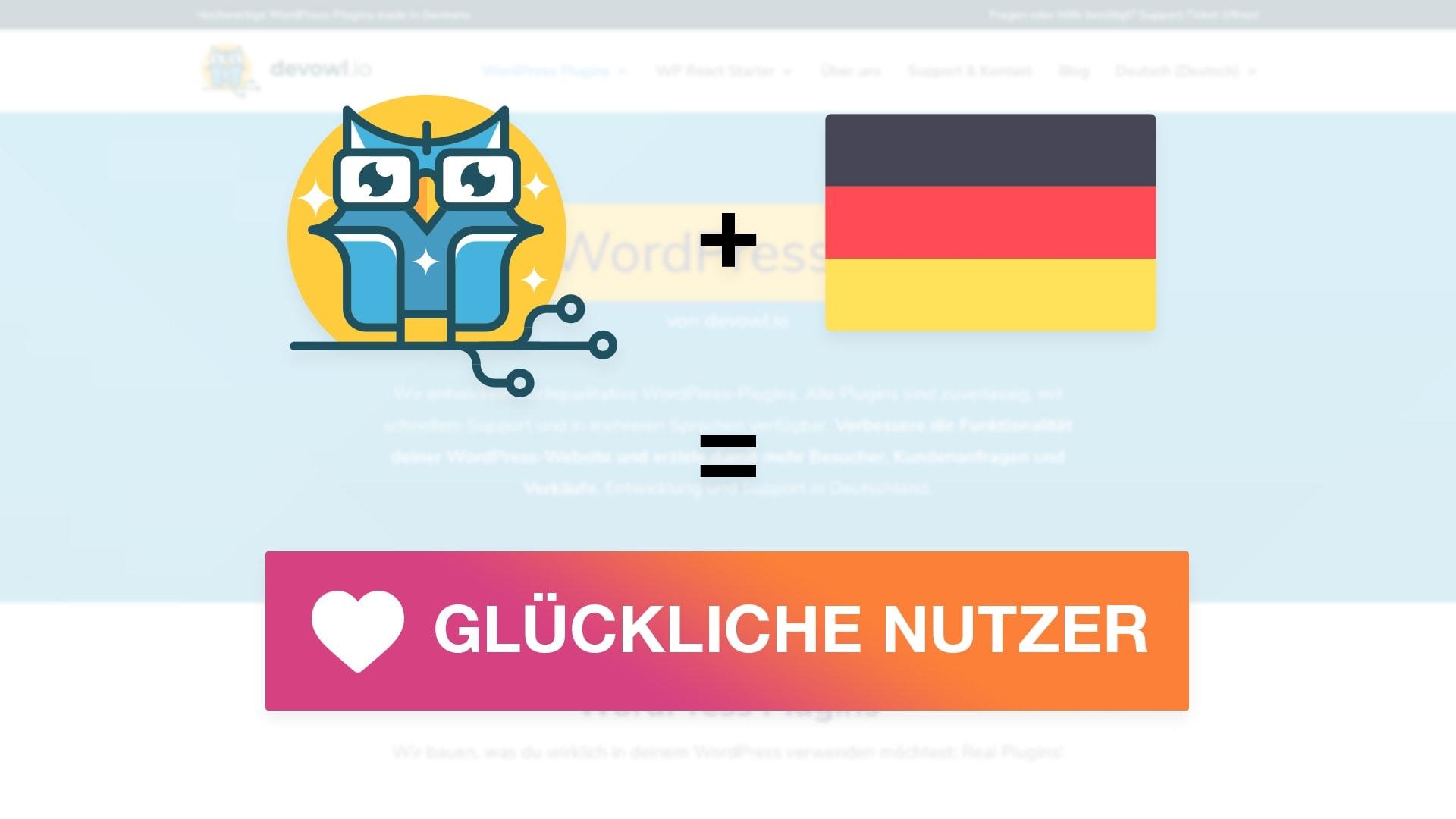 devowl.io ist jetzt auf Deutsch verfügbar