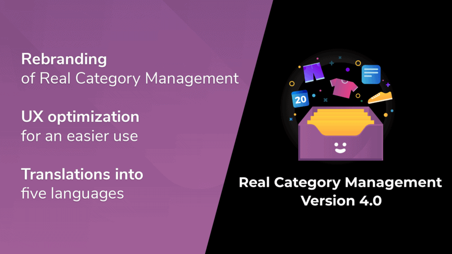 Real Category Management 4.0 released