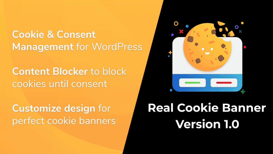 Real Cookie Banner 1.0 released