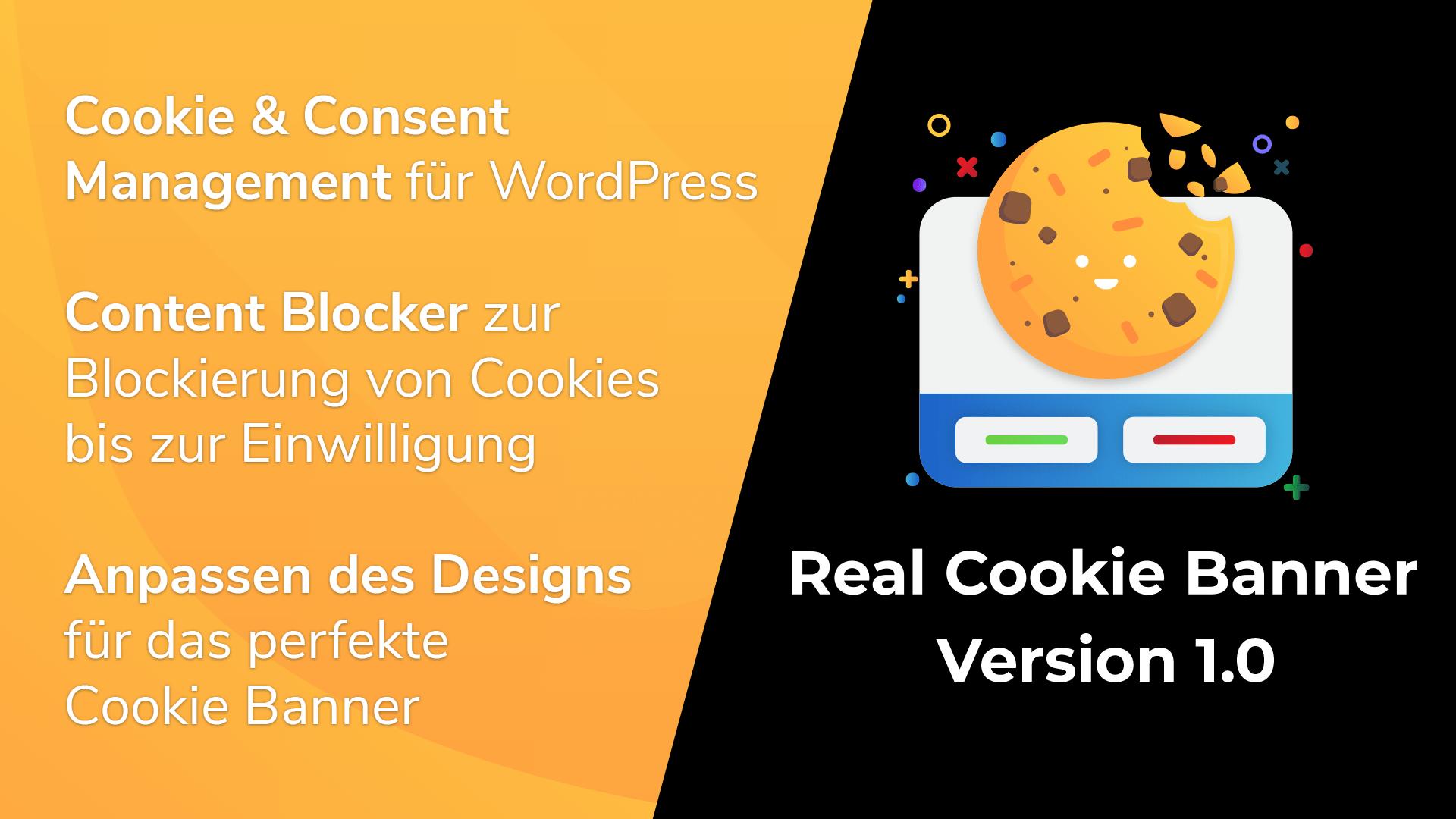 Real Cookie Banner 1.0 veröffentlicht