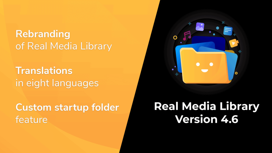 Real Media Library Version 4.6