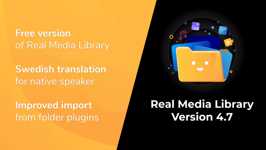 Real Media Library Version 4.7