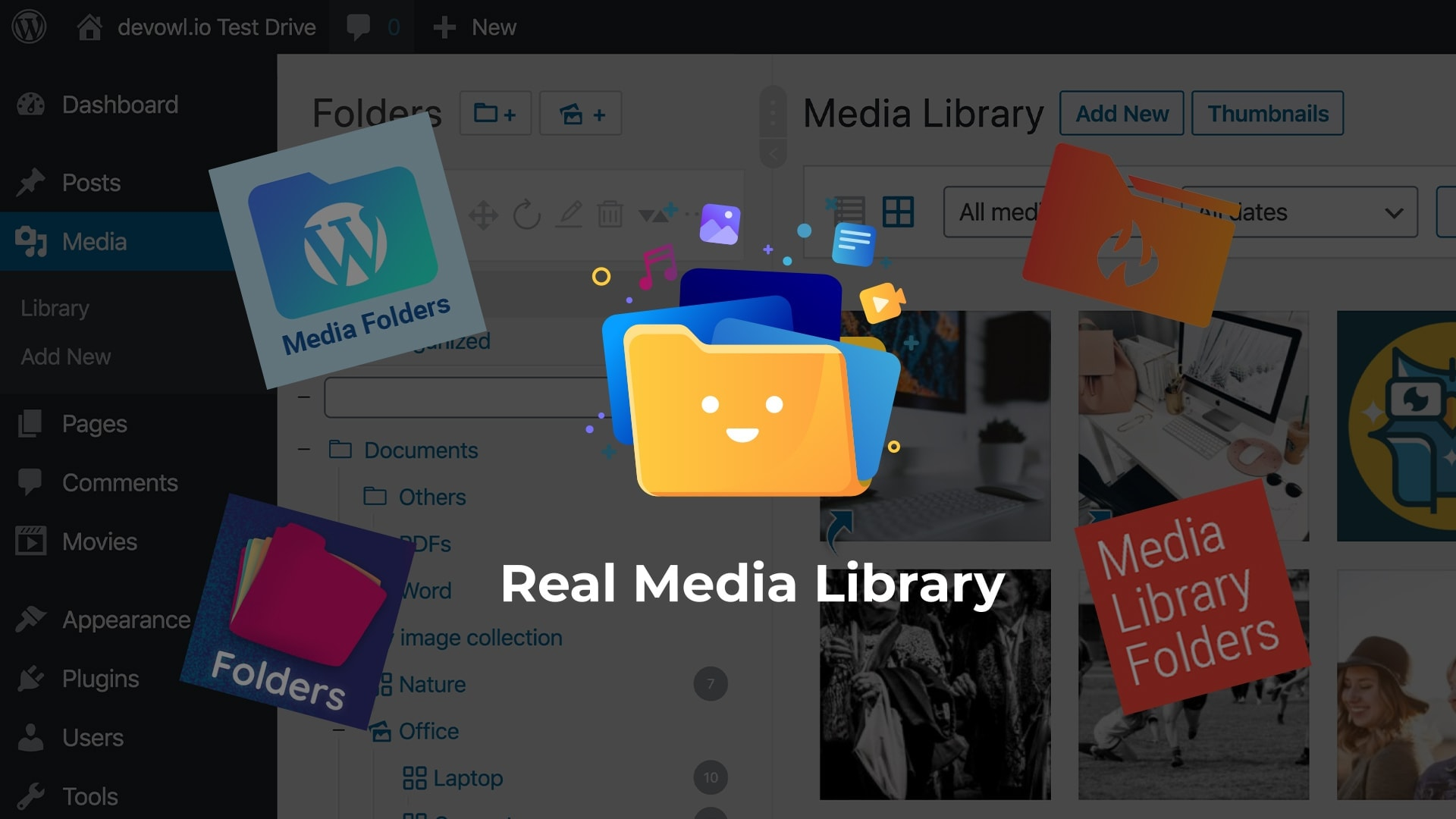 WordPress Media Library Folder Management Plugins: Best solution is Real Media Library