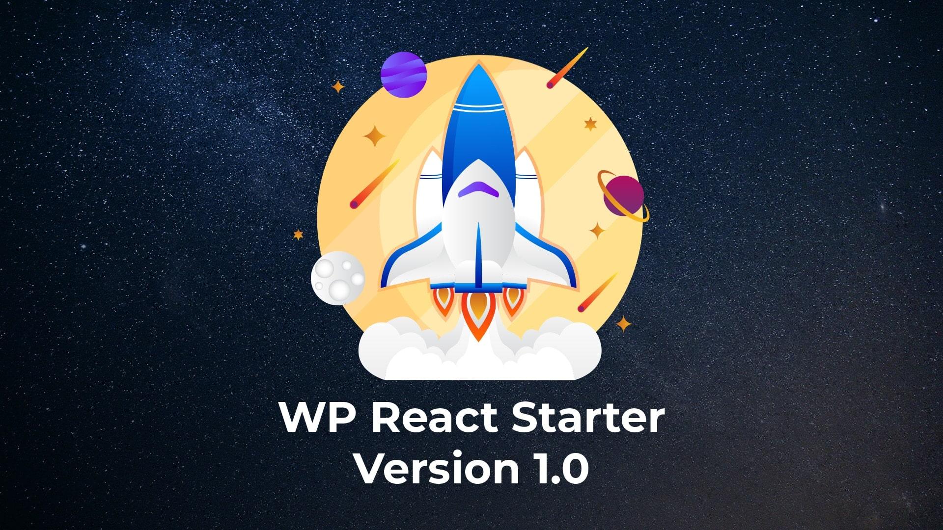 WP React Starter 1.0